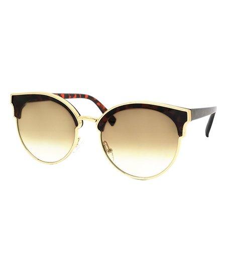 05d9230a371d love this product Tortoise   Gold Ombré Copa Cabana Cat-Eye Sunglasses