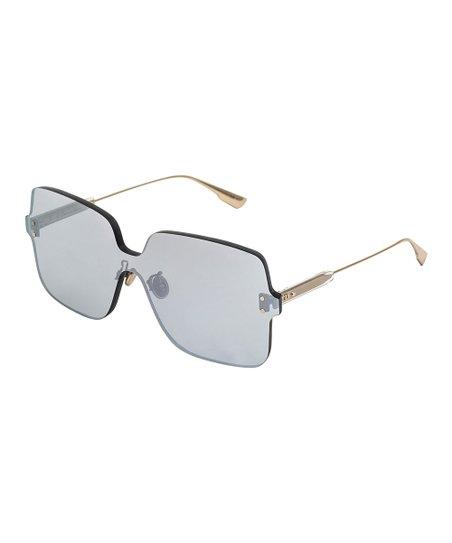 db6d173196 Dior Gold   Silver Color Quake Shield Sunglasses - Women
