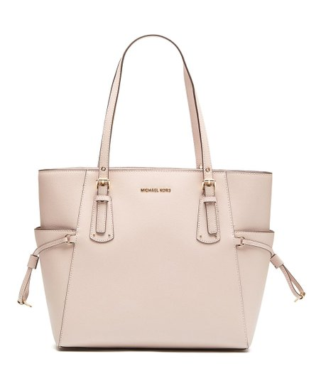 Michael Kors Light Pink Voyager Leather Tote  7b4072285