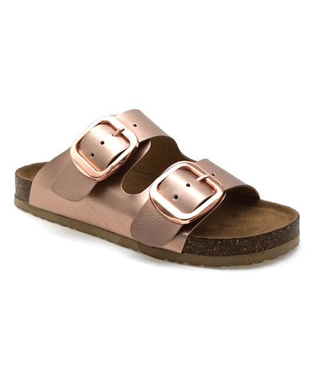 097dda5f0a6 love this product Rose Gold Double-Strap Bork Sandal - Women