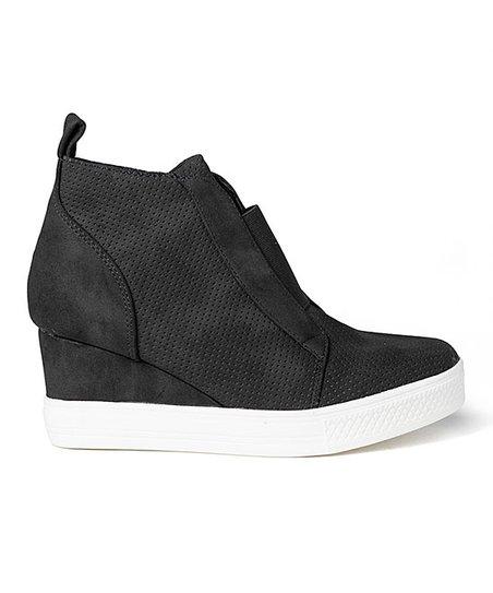 e47093368bd CCOCCI Black Zoey Wedge Sneaker - Women