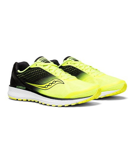 fce6f87c5869d Saucony Citron & Black Breakthru 4 Running Shoe - Men - Men