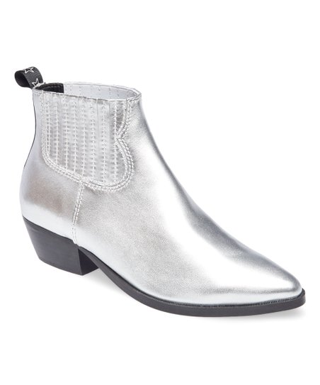 79f2335ac1a8 love this product Silver Westie Leather Ankle Boot - Women