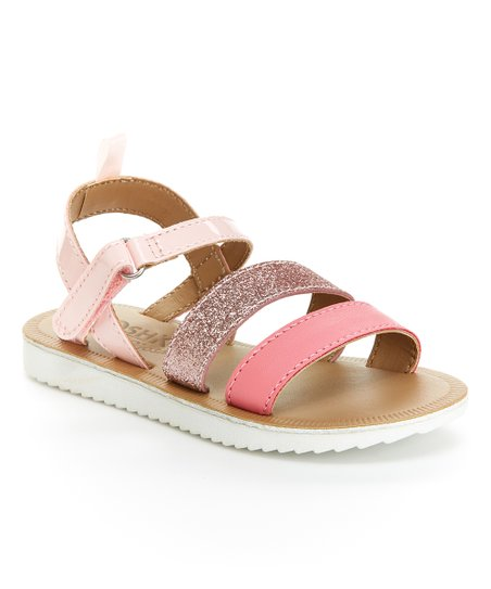 43ab28a15be9 love this product Pink   White Stella Strappy Sandal - Girls
