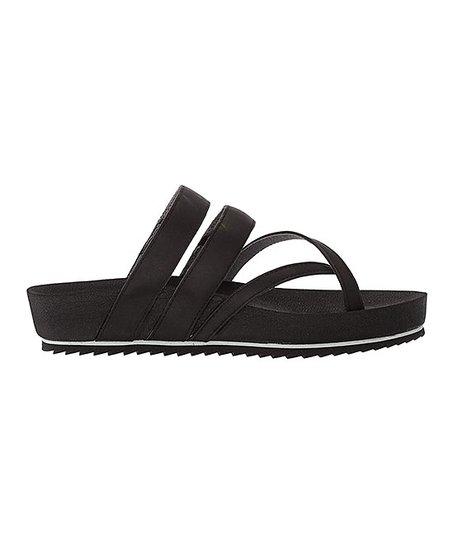1389f08c68ca New Balance Black Traveler Platform Sandal - Women