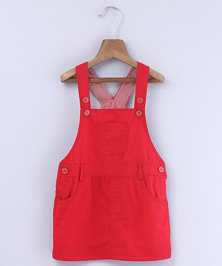 f345cf7ba3 love this product Red Dungaree Dress - Newborn, Infant, Toddler & Girls