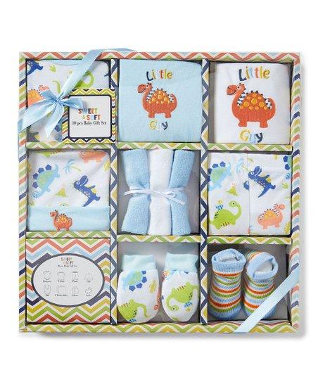 9e145cc41 love this product Blue Dino 'Little Guy' 10-Piece Layette Set - Newborn