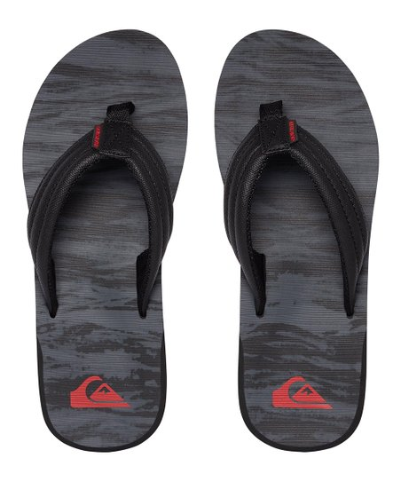 12a7b9a20cca19 love this product Black   Gray Carver Flip-Flops - Men