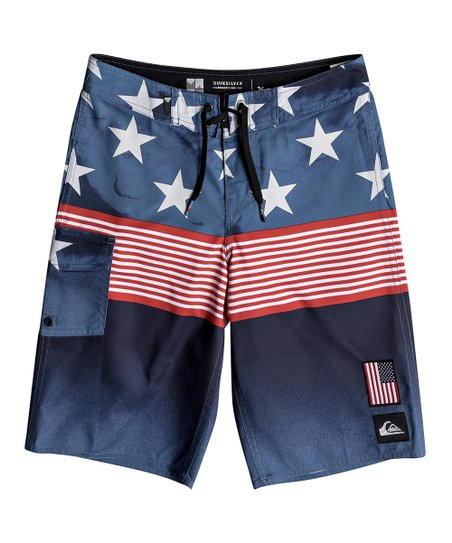 0118c7e76b love this product Navy Blazer Division Independent 18'' Boardshorts - Boys