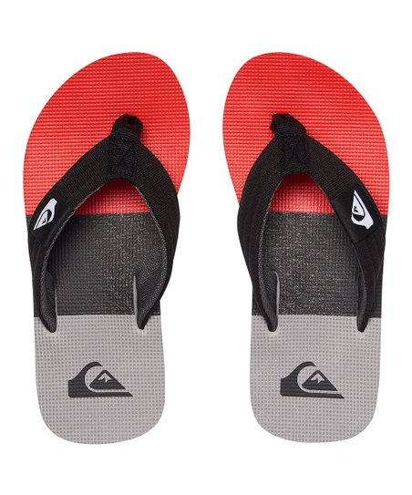 884ee2130 love this product Red   Black Molokai Layback Flip-Flop - Boys