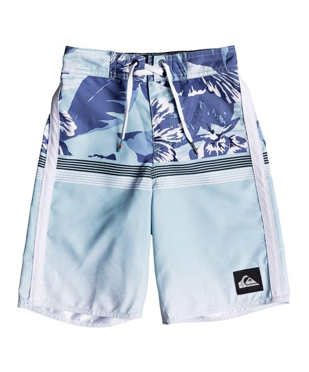 1b2684a792 Quiksilver Medieval Blue Divide 14'' Boardshorts - Toddler & Boys