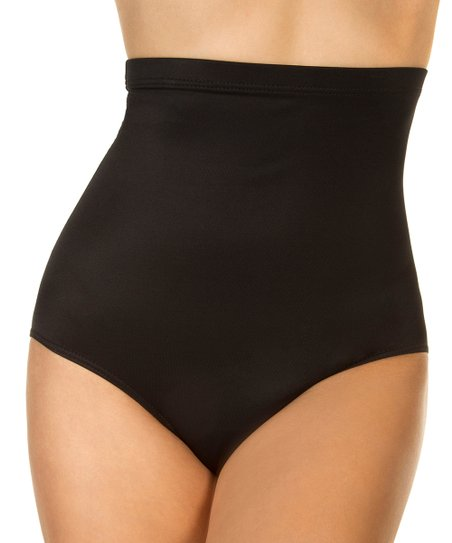 d0175c6fa0 Miraclesuit Black Super High-Waist Bikini Bottoms - Women | Zulily