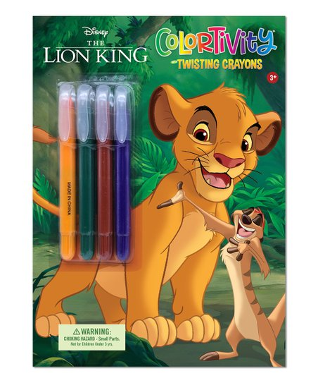 - Dreamtivity Disney Lion King Colortivity Coloring Book & Twist-Up Crayon  Set Best Price And Reviews Zulily