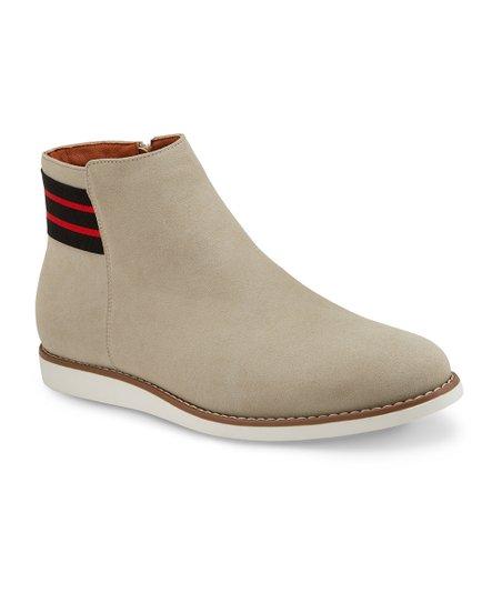 32c6db45b81fb Reserved Footwear Light Gray The Rowlock Chelsea Boot - Men   Zulily