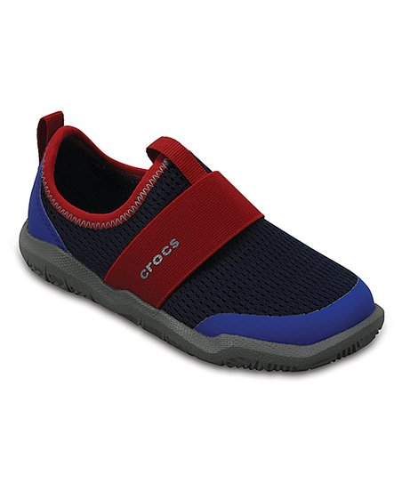 2882c4396bf3 love this product Navy   Pepper Swiftwater Easy-On Shoe - Boys