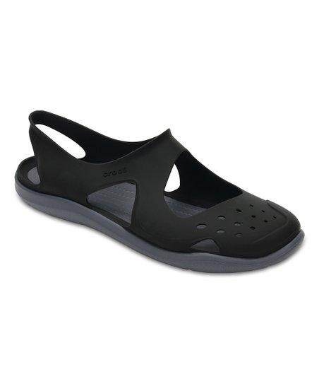 3e1c14d2f2a241 Crocs Black Swiftwater Wave Sandal - Women