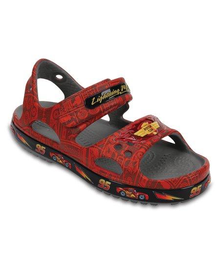 e4e6b0297 love this product Flame Lightning McQueen™ Crocband™ II Sandal - Kids