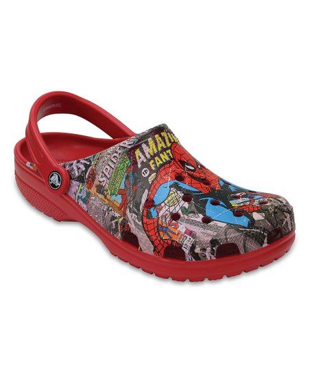 c2069d305 love this product Red Spider-Man Classic Clog - Adult