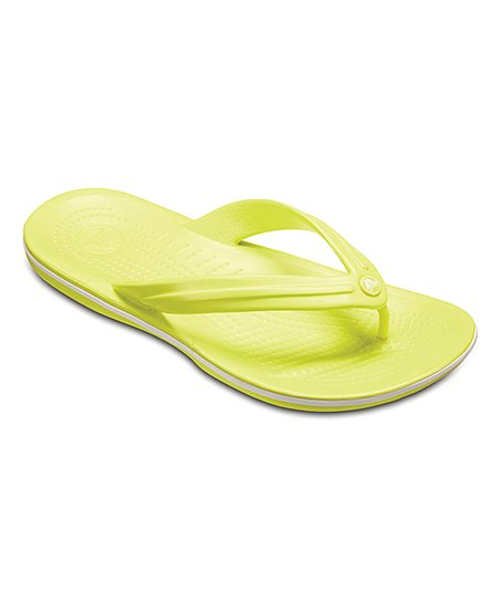 d2fca7e10ee love this product Tennis Ball Green   White Crocband™ Flip-Flop - Adult