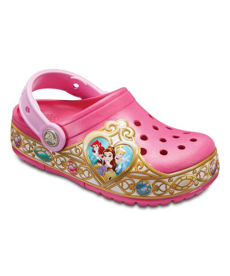 Crocs Vibrant Pink Disney Princess