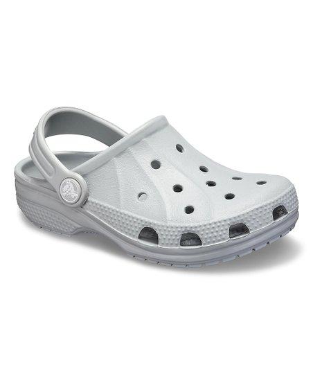 e1a9603543 Crocs Light Gray Ralen Clog - Adult | Zulily