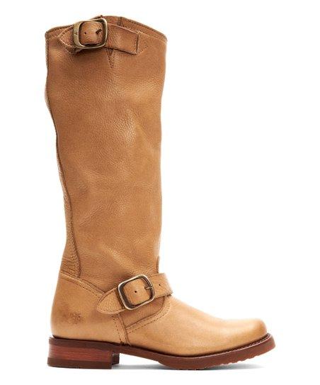 19f5f5eabf64 Frye Camel Veronica Slouch Leather Boot - Women