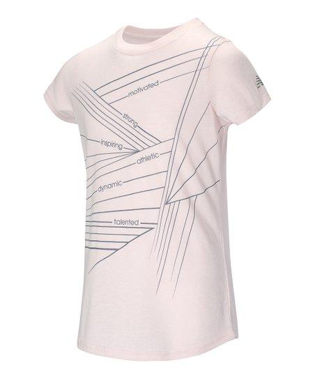 aa8e978dbc9 love this product White Graphic Short-Sleeve Tee - Girls