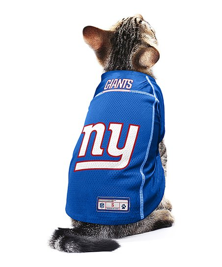 big sale c13d4 d849f Hip Doggie New York Giants Mesh Pet Jersey - Men