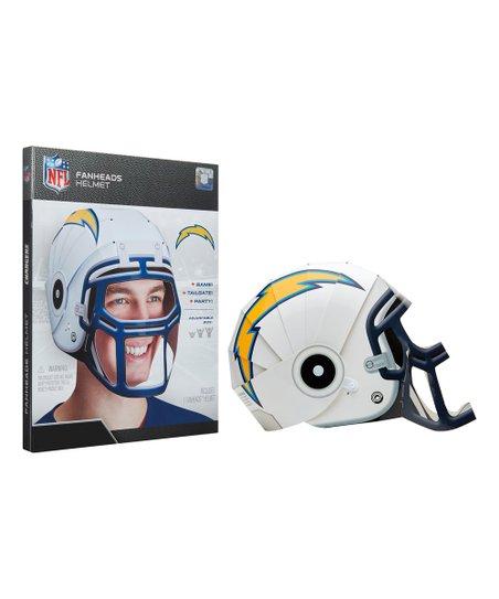 7666048c Jakks Pacific Los Angeles Chargers Fan Heads Helmet