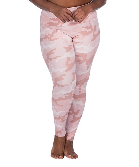 d2f8126d718a0 Leading Lady Pink Camouflage Leggings - Women & Plus | Zulily