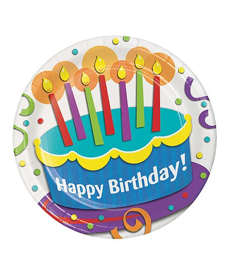 Love This Product Happy Birthday Cake Plate