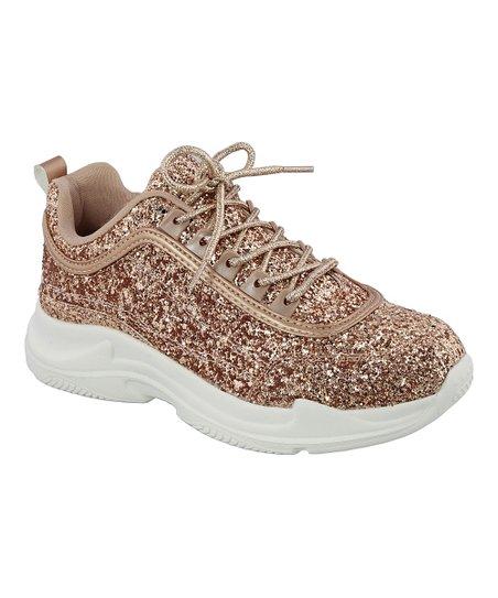 b2f5e37dbb5 love this product Rose Gold Glitter Kory Sneaker - Women