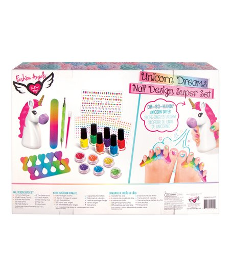Fashion Angels Unicorn Dream Nails Super Set Best Price And Reviews Zulily