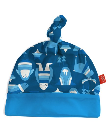Magnetic Me by Magnificent Baby Blue Yeti Set Go Single-Knot Beanie ... c72bc57f85c
