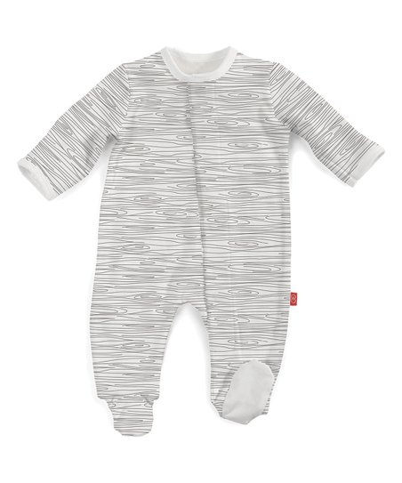 Magnificent Baby Magnetic Fastener Cotton Footie