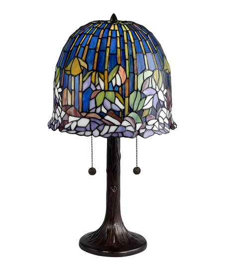 Dale Tiffany Blue Glass Table Lamp Zulily