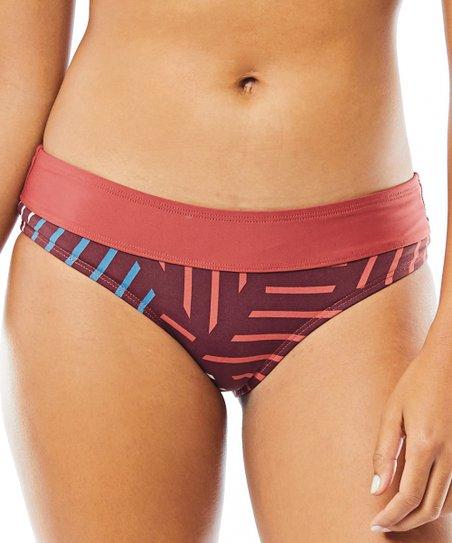 81928e4dd9 Carve Designs Merlot Sol Catalina Bikini Bottoms - Women | Zulily