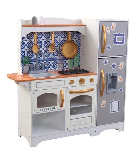 Kidkraft Mosaic Magnetic Play Kitchen Set