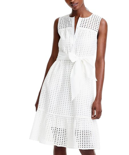 9fc3f0226e9 love this product White Roots Eyelet Dress - Women