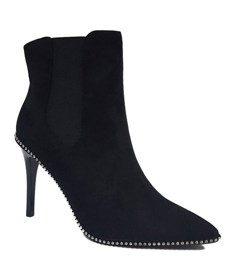 4847c7f02fa love this product Black Rhinestone-Embellished Marie Ankle Boot - Women