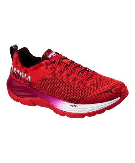9de88a49be36 HOKA ONE ONE Hibiscus   Cherries Jubilee Mach Running Shoe - Women ...