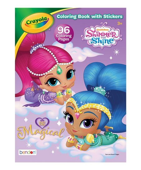 - Bendon Publishing International, Inc. Shimmer & Shine Coloring Book &  Stickers Best Price And Reviews Zulily