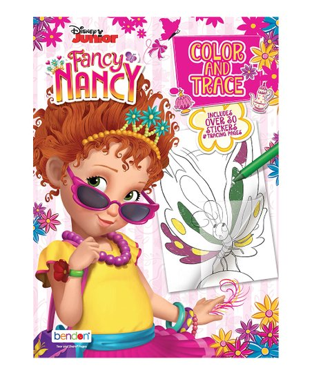 612191859ce3a love this product Fancy Nancy Color   Trace Activity Book