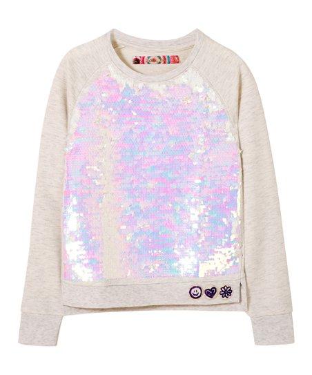 Desigual Girls Sweat/_Hello Sweatshirt