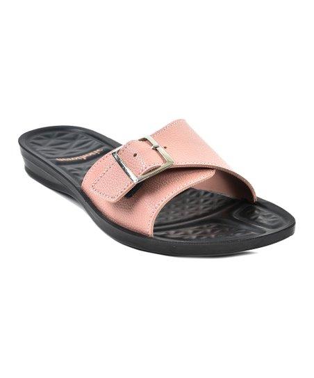 0cbeaf30ae4 Aerothotic by Aerosoft Pink Drift Slide Sandal - Women