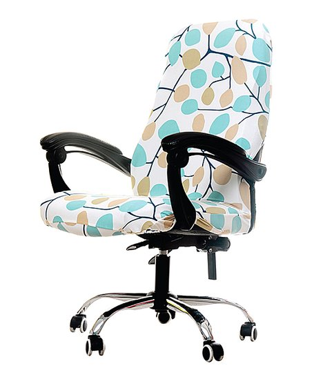 Fine Lexi Park Blue Bella Office Chair Slip Cover Gmtry Best Dining Table And Chair Ideas Images Gmtryco