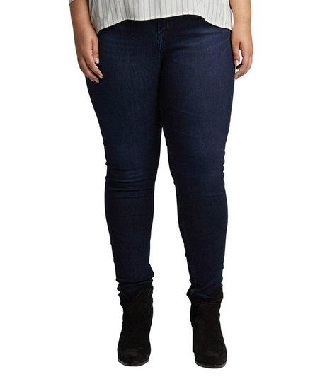3bfc35d3 Silver Jeans Co. Indigo Mazy Skinny Jeans - Plus | Zulily
