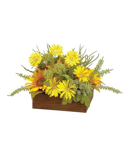 Yellow Artificial Daisy Home Décor Zulily
