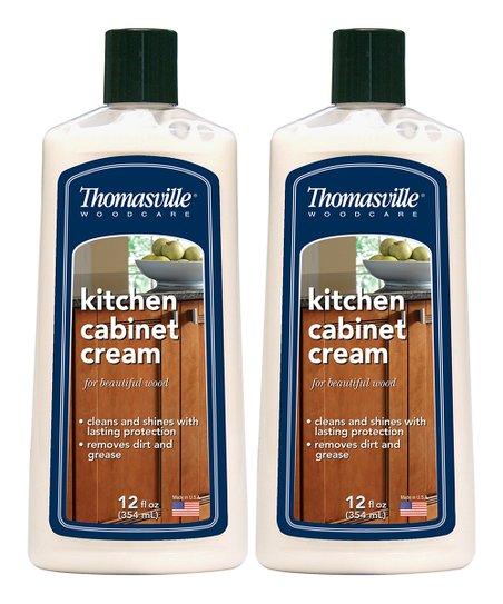Thomasville 12-Oz. Kitchen Cabinet Cream Bottle - Set of Two