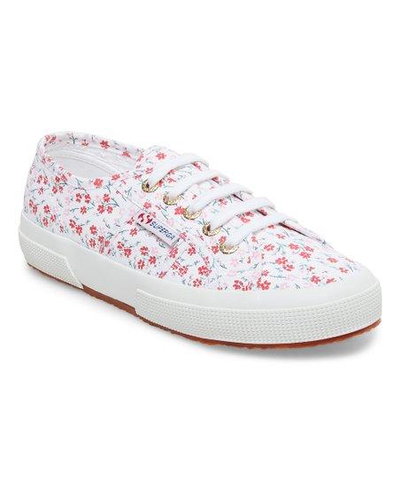 Floral Sneaker - Women
